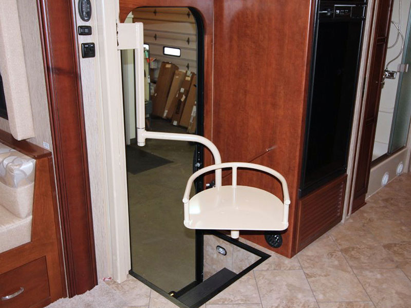 2015 Newmar Bay Star RV Seat Lift