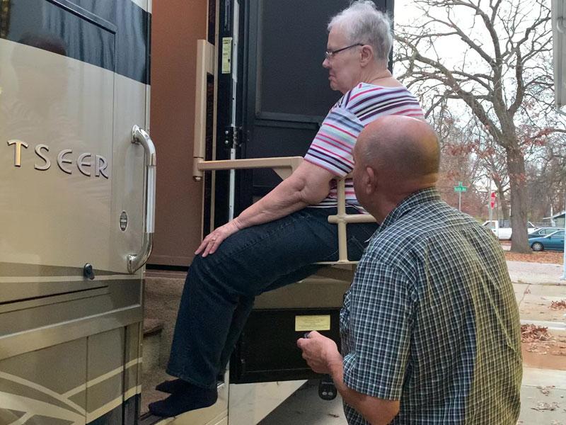 2013 Winnebago Sightseer Seat Lift