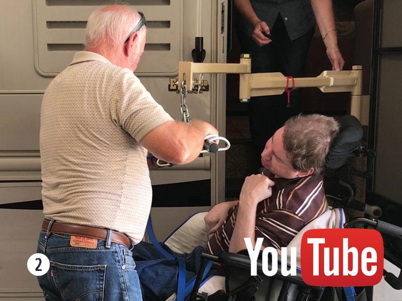 Thor Seat Lift Motor Coach Handicap